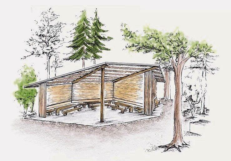 Permalink zu:Waldhütte Stockenholz- Einweihungsfest