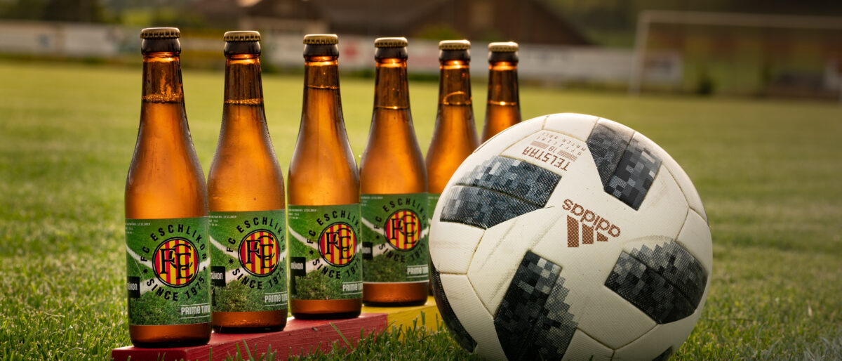 Permalink zu:Keine Bieridee – FC Eschlikon erhält eigenes Bierlabel